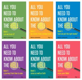 All You Need to Know About the Bible 6 Book Set