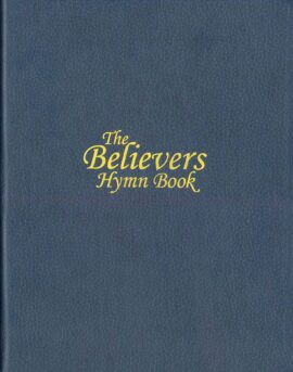 Believers Hymn Book, Navy Deluxe Piano Edition