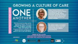 Equipped to Care for One Another: Growing a Culture of Care Event 1st October 2021