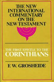 The First Epistle to the Corinthians (Used Copy)
