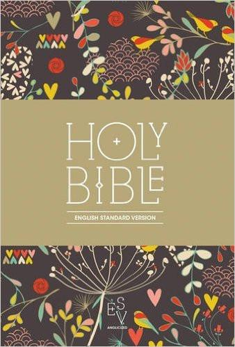 ESV Anglicised Compact Floral HB