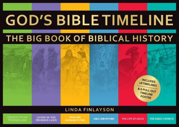 God's Bible Timeline – The Big Book of Biblical History
