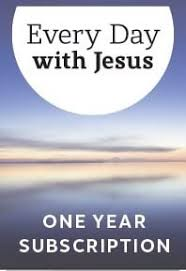 Every Day With Jesus Bible Reading Notes Large Print 2021 Subscription